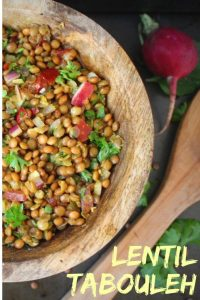 Lentil Tabouleh Salad