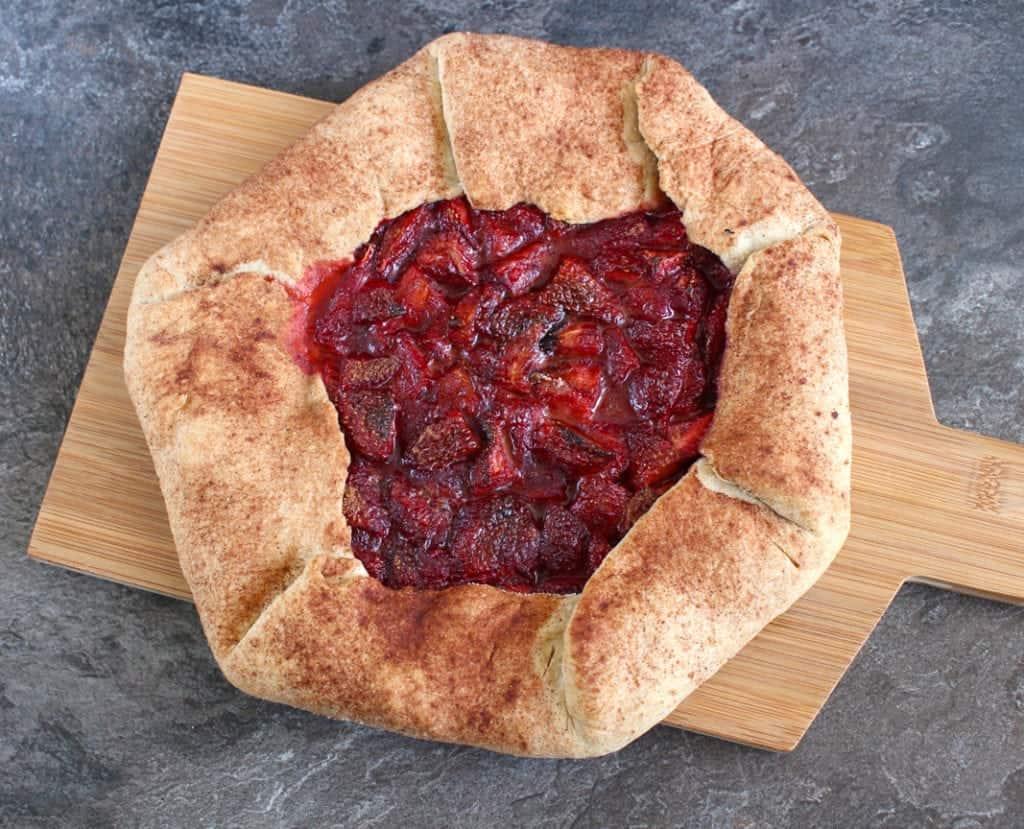 Strawberry Cinnamon Galette