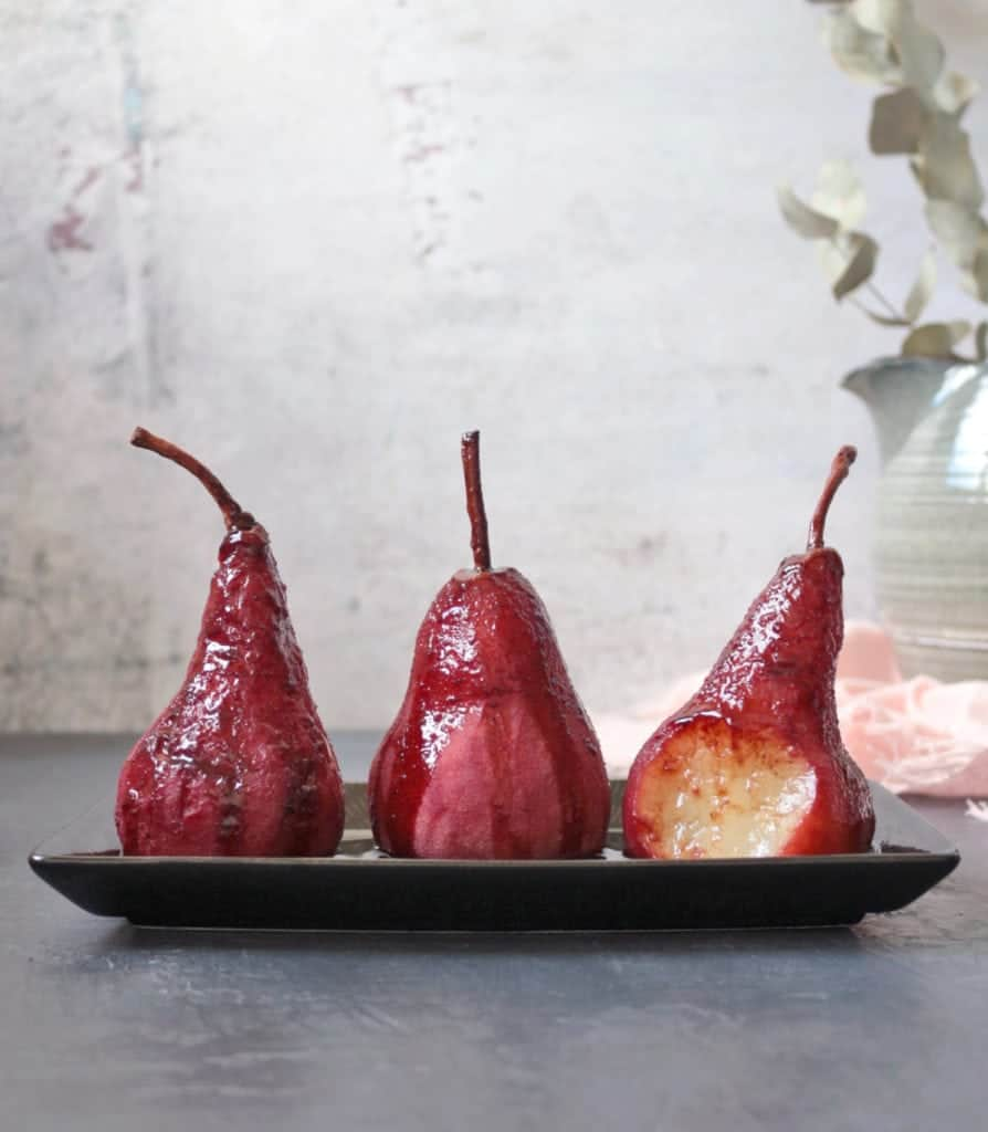 Bite off the Poached Pears